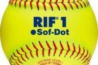 Wilson A9011 NFHS Leather Polycore Softballs